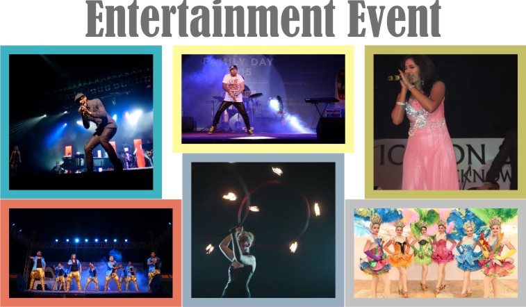 event management services for concert,theme parties