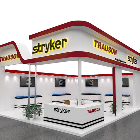 Expo Stall Design For : Stryker India
