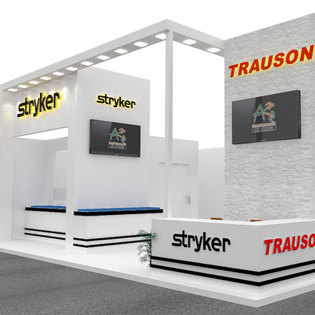 Stall Design for STRYKER INDIA